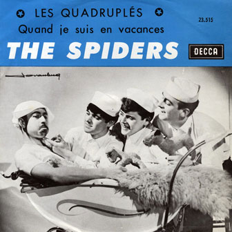 THe Spiders Les quadruplés